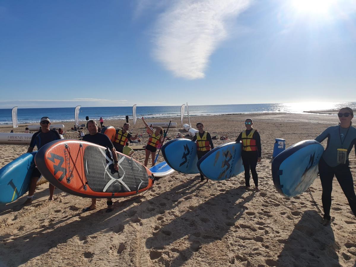 paddle surf hibernis mare playa de invierno mil palmeras pilar de la horadada