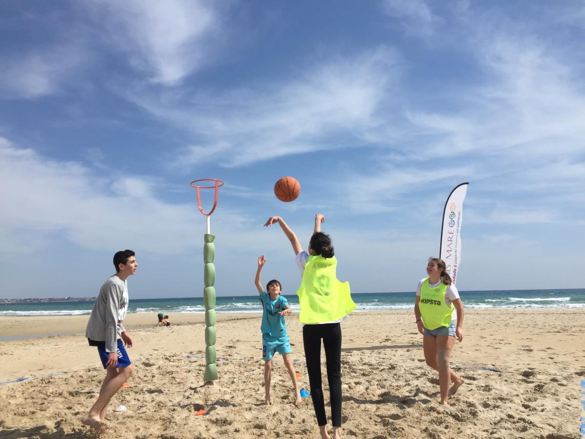 basket beach hibernis mare mil palmeras pilar de la horadada playa de invierno