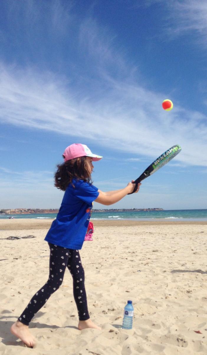 tenis hibernis mare mil palmeras pilar de la horadada playa de invierno