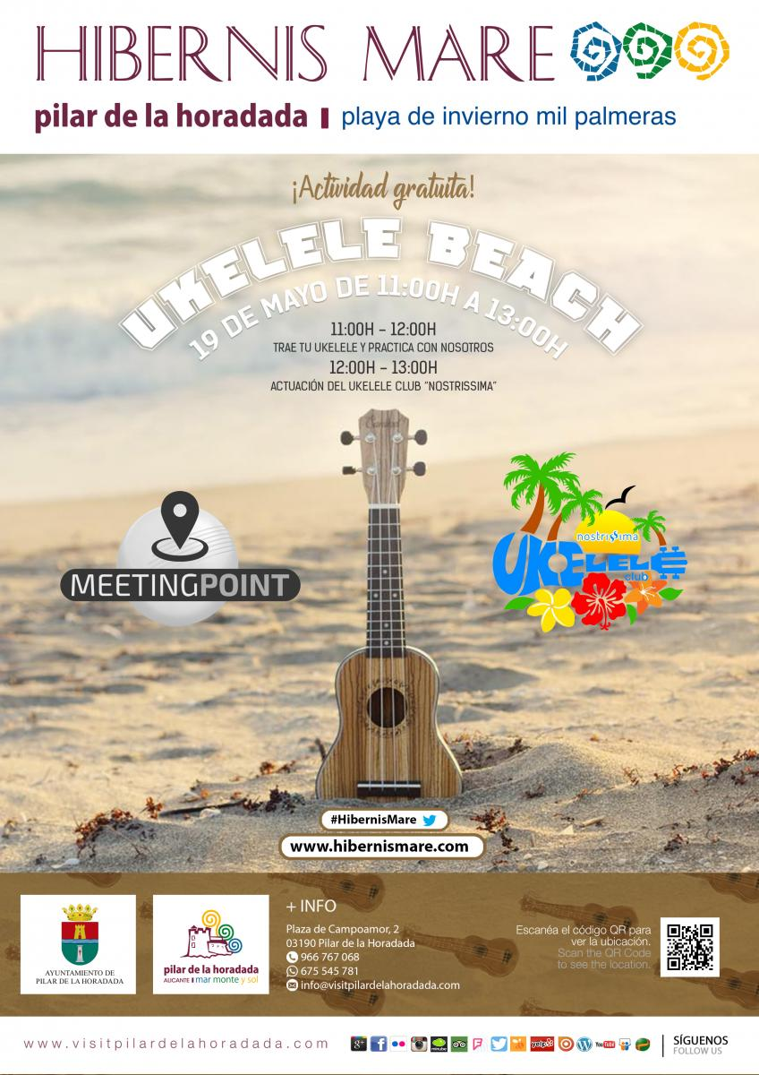 ukelele beach meeting point hibernis mare mil palmeras pilar de la horadad
